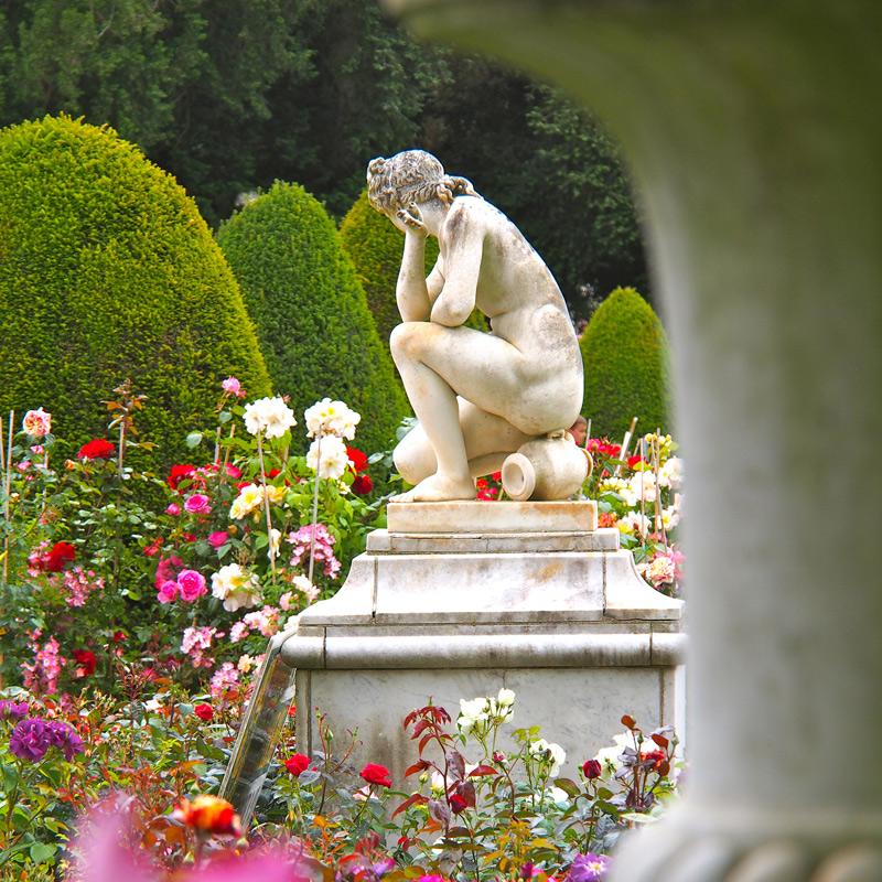 Journée de la rose à l'abbaye de Chaalis, Institut de France