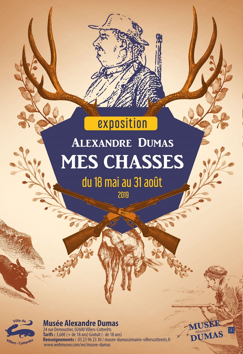 Exposition Mes chasses / Dumas
