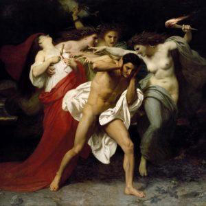 William Bouguereau, les Remords d'Oreste (1862)