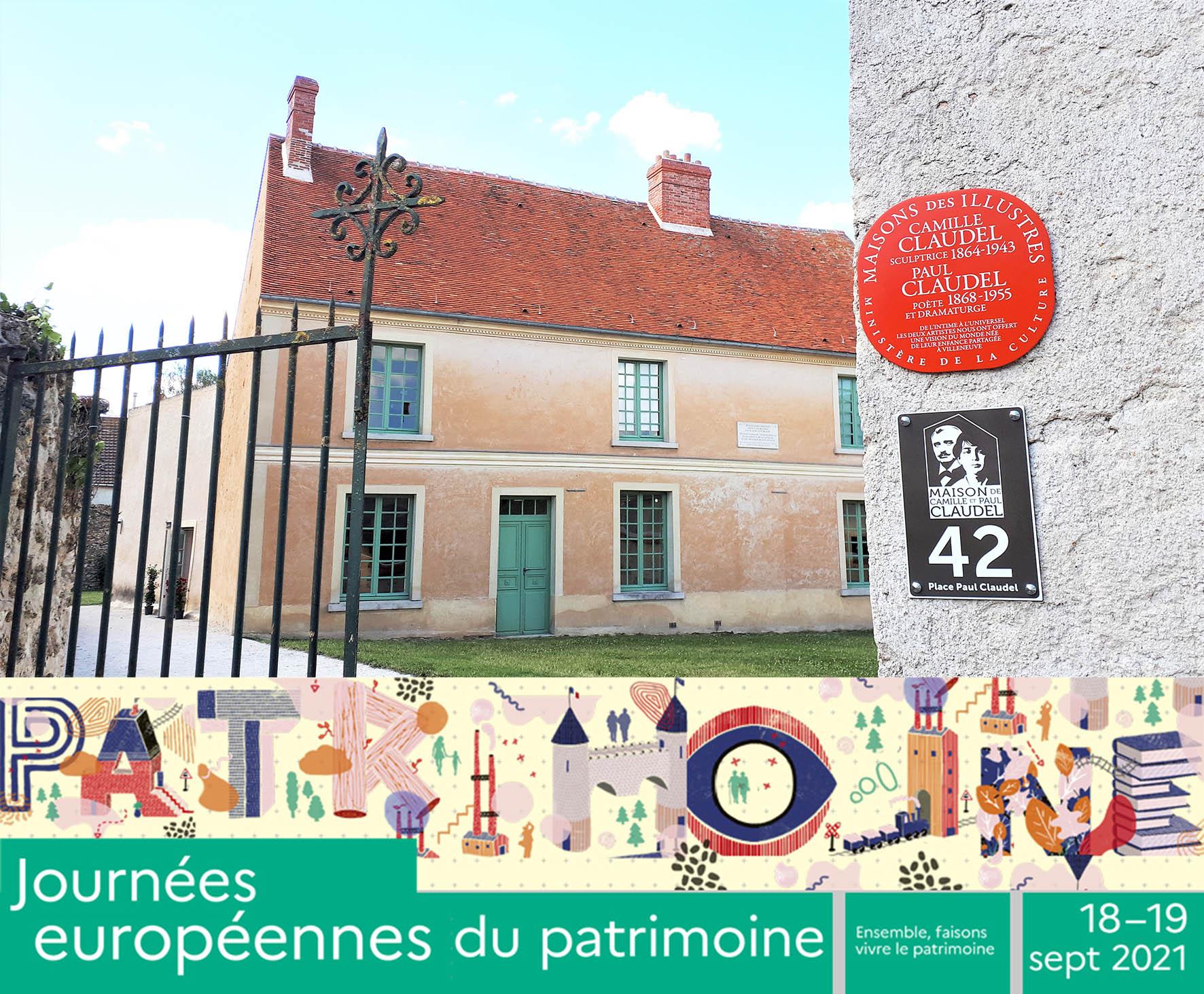 Maison Camille et Paul Claudel pour les Journées européennes du patrimoine