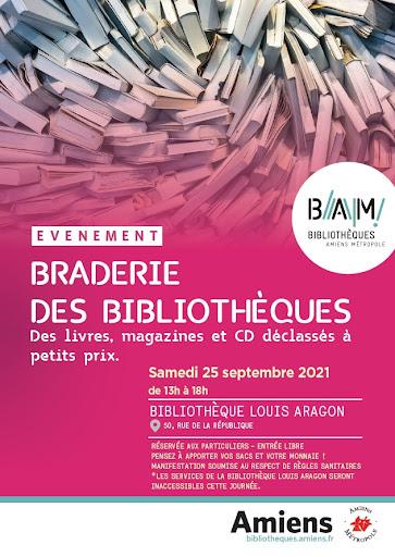 braderie des bibliothèques Amiens