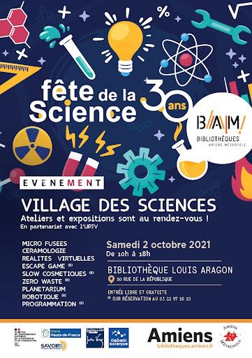 fête de la science bibliothèques d'Amiens