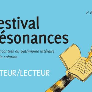 festival résonances flyer