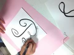 Calligraphie-Inès